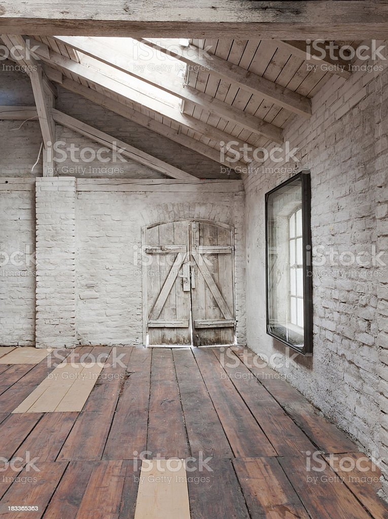 the loft stock photo