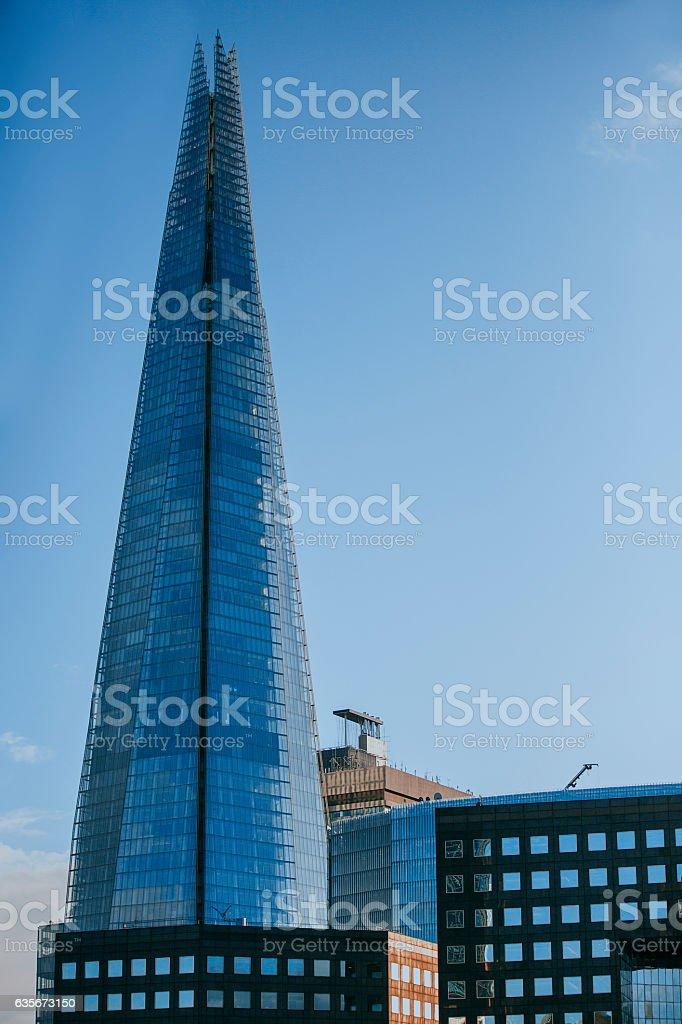 The London Bridge Tower. Shard. stock photo