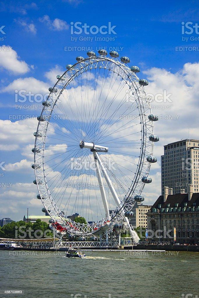 The London Eye, England royalty-free stock photo