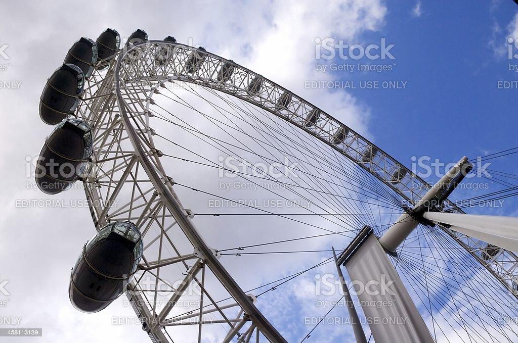 The London Eye royalty-free stock photo