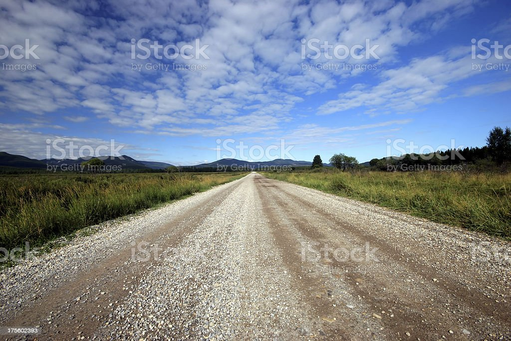 The Long Road (Series-one) royalty-free stock photo
