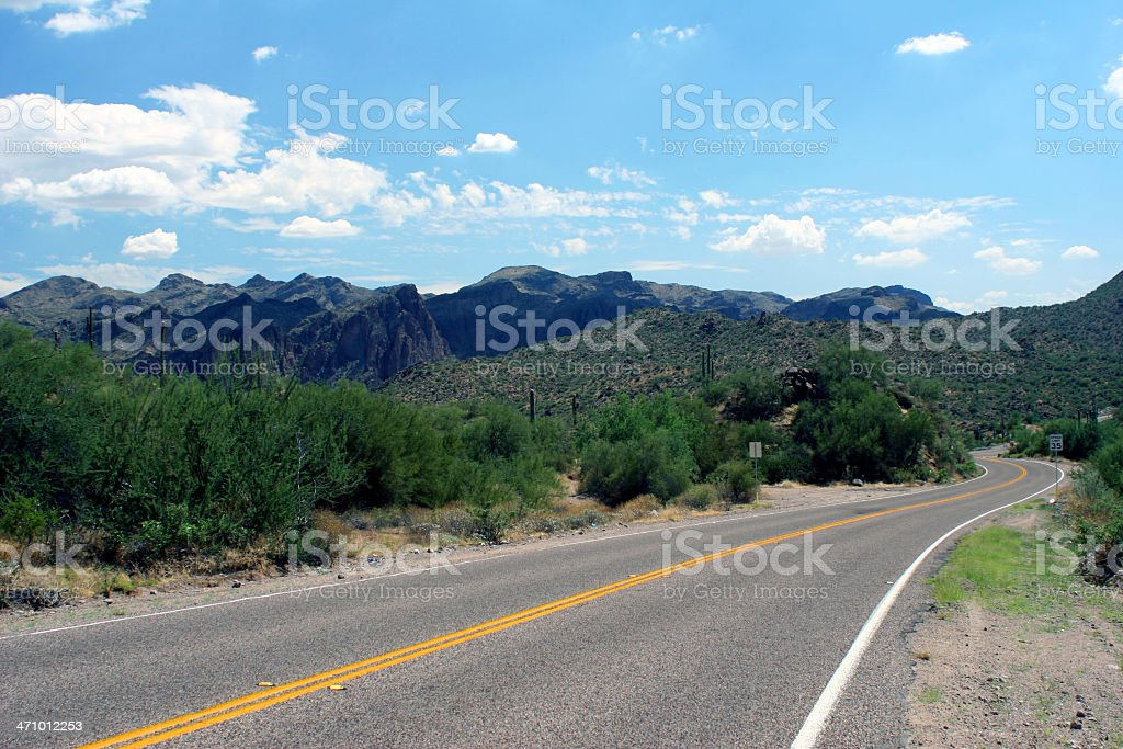 The long stretch royalty-free stock photo