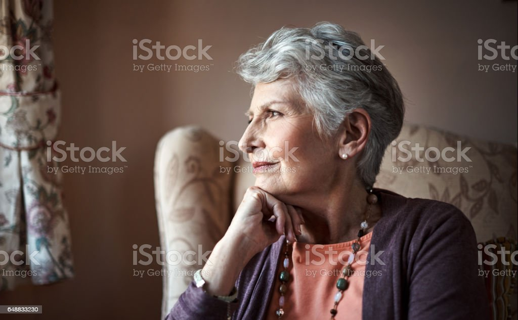 The longer I live the more beautiful life becomes stock photo