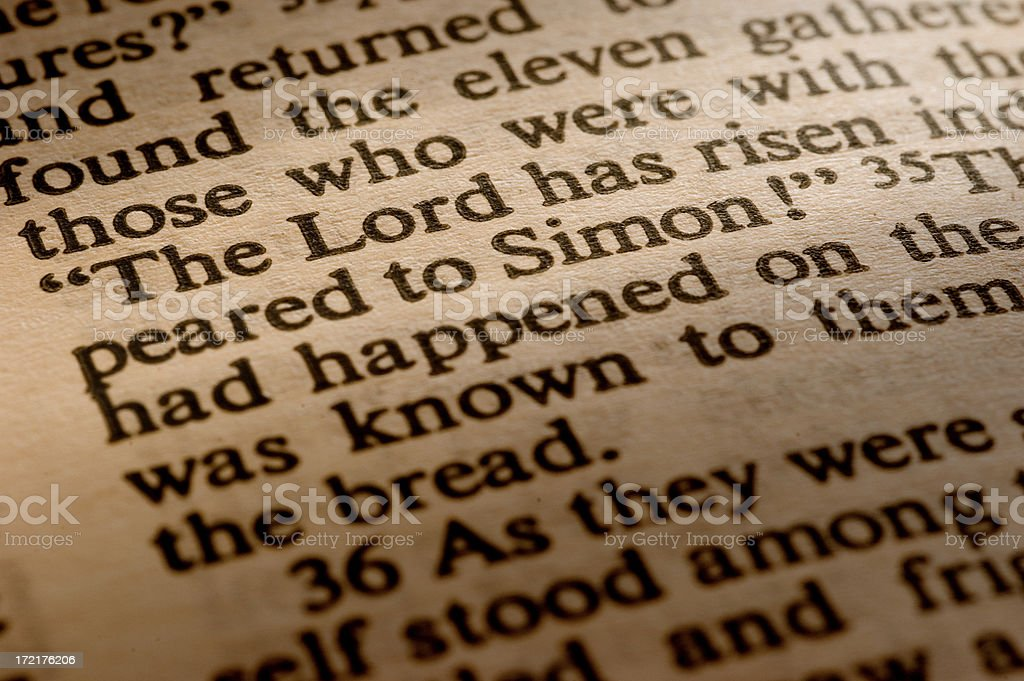 The Lord has risen... royalty-free stock photo