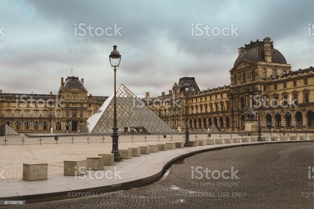 The Louvre, Paris stock photo