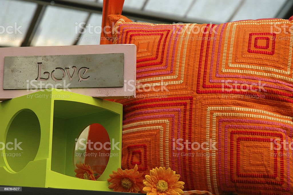 The Love of Decor stock photo