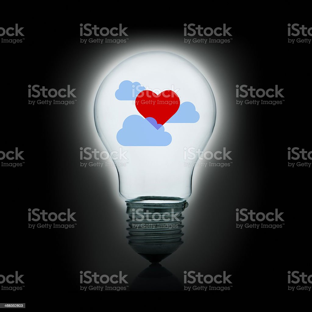 The love of my dreams stock photo