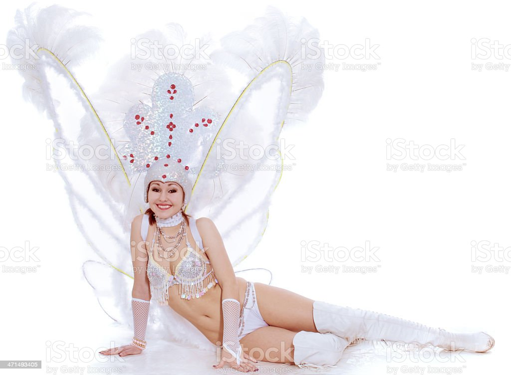 The lovely dancer royalty-free stock photo