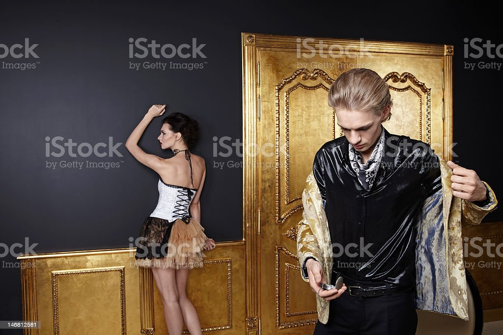 The luxury concept royalty-free stock photo