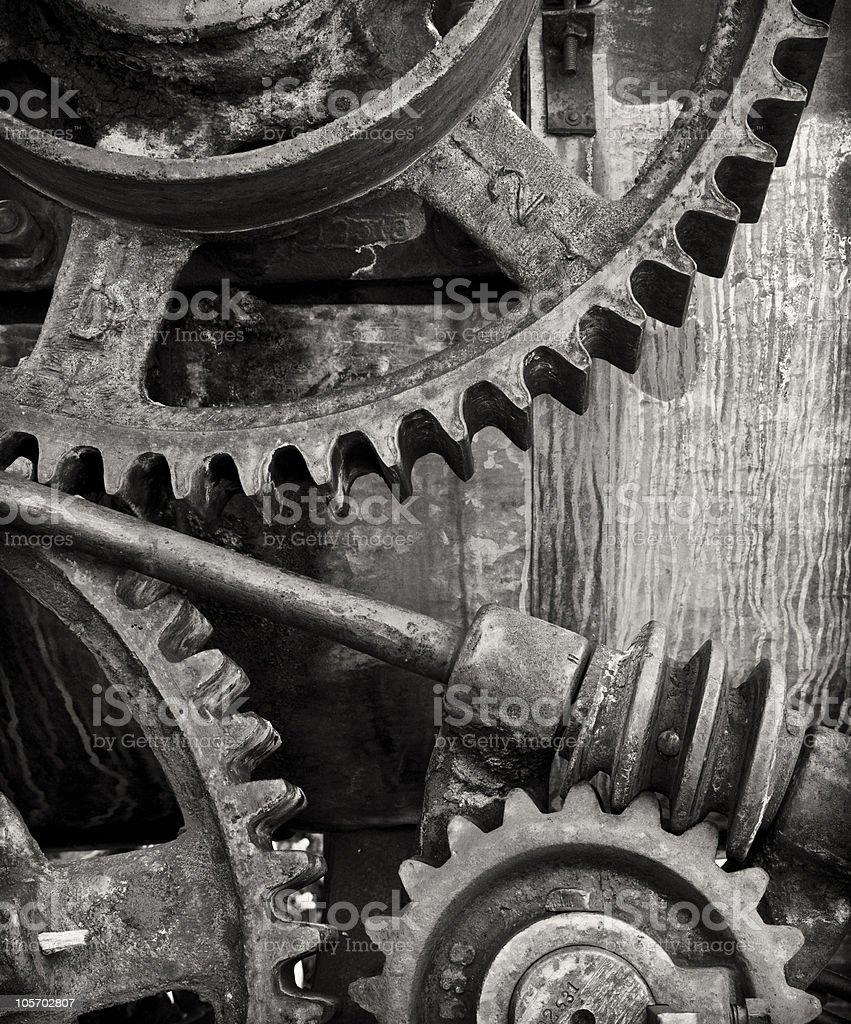 The Machine royalty-free stock photo