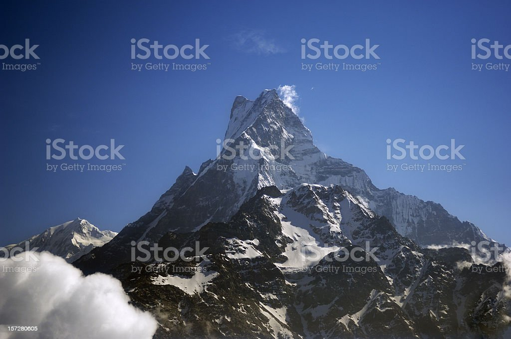 The Machupuchare royalty-free stock photo