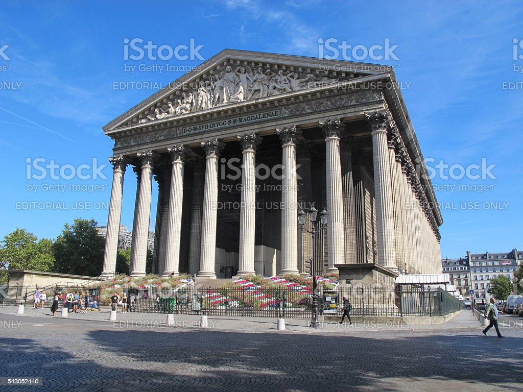 La Madeleine stock photo