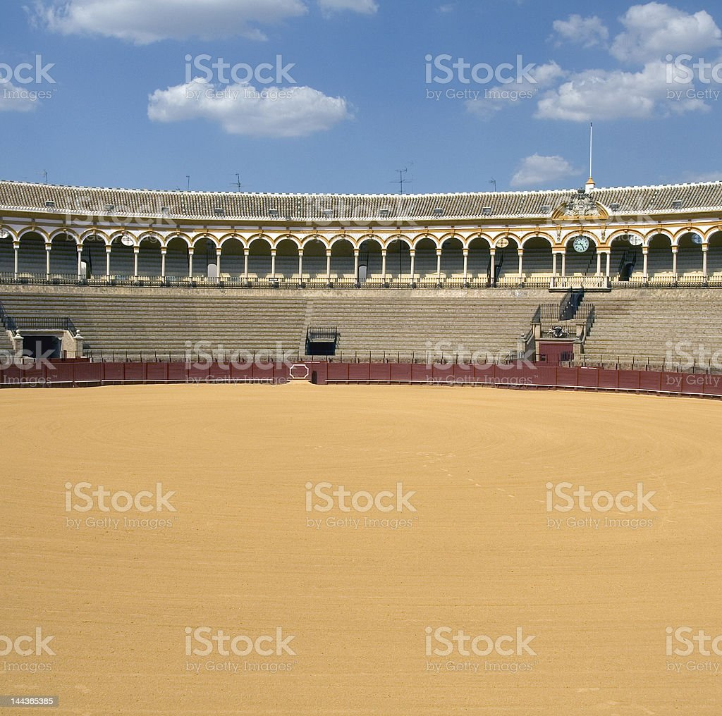 La Maestranza Bullring royalty-free stock photo