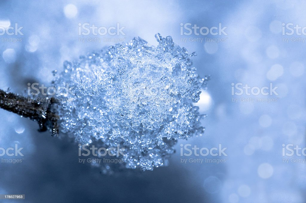 The magic ice royalty-free stock photo