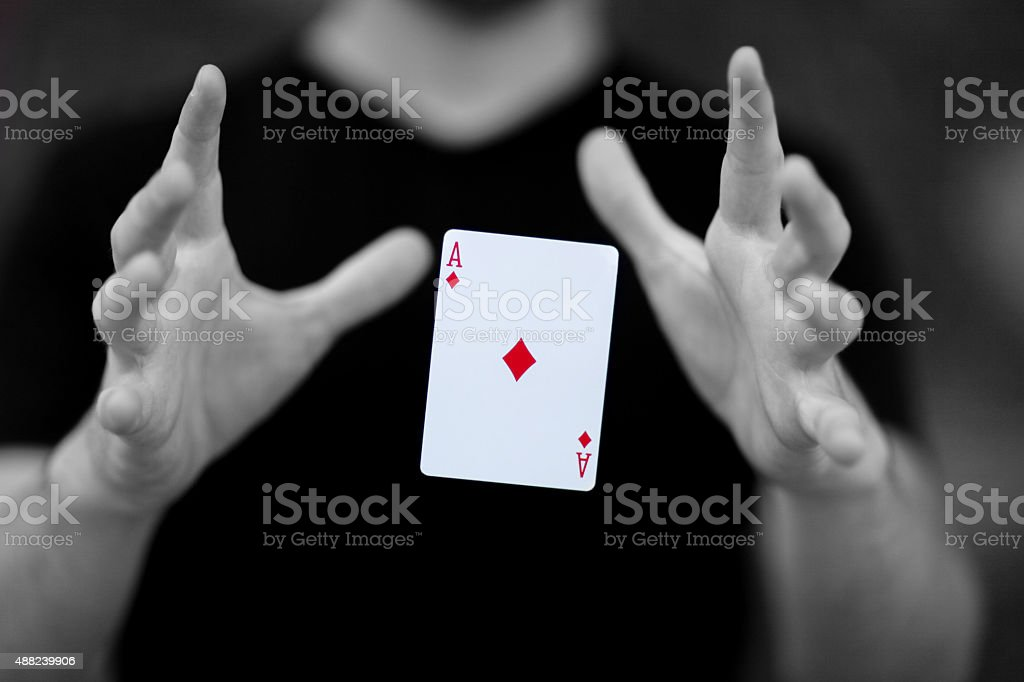 The Magic Number stock photo