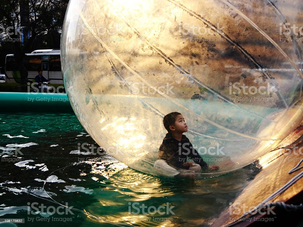 The Magic of Childhood stock photo