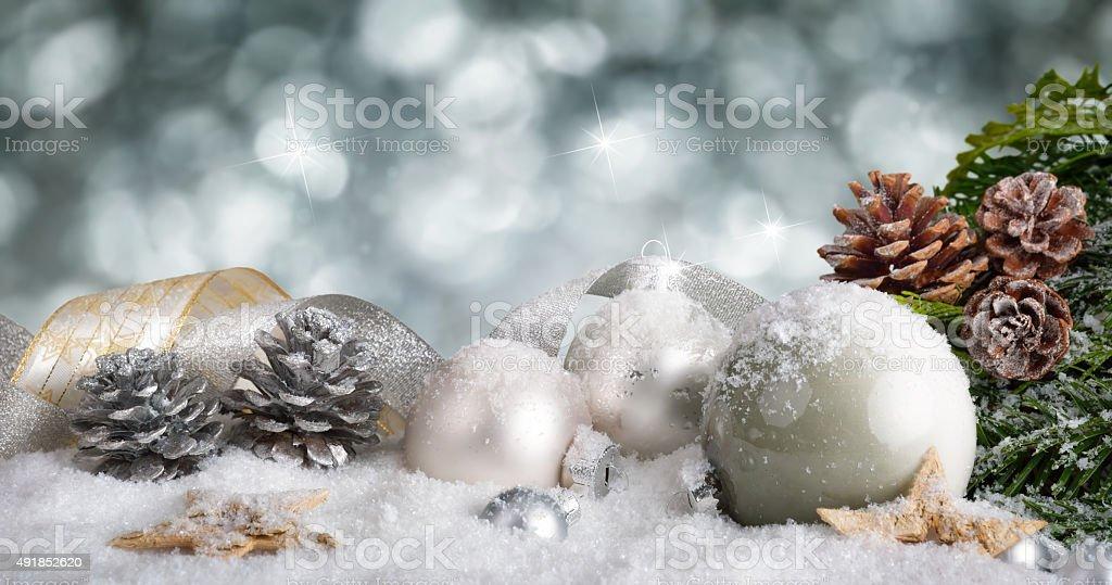 The magic of Christmas stock photo