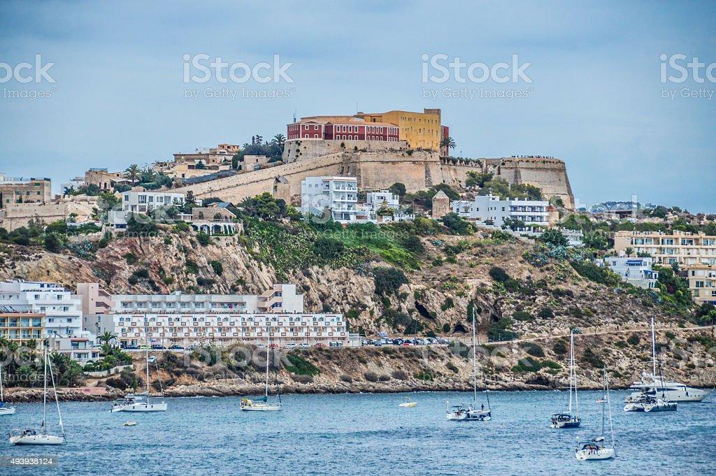 The Magical Island of Ibiza stock photo