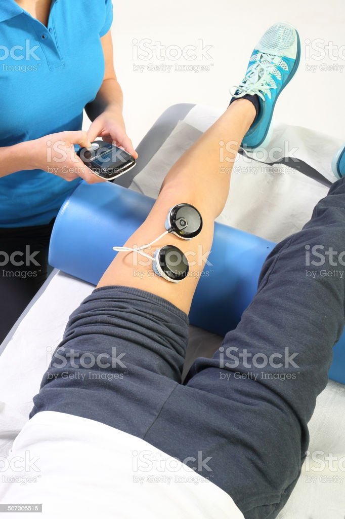 The magnetic field, rehabilitation stock photo