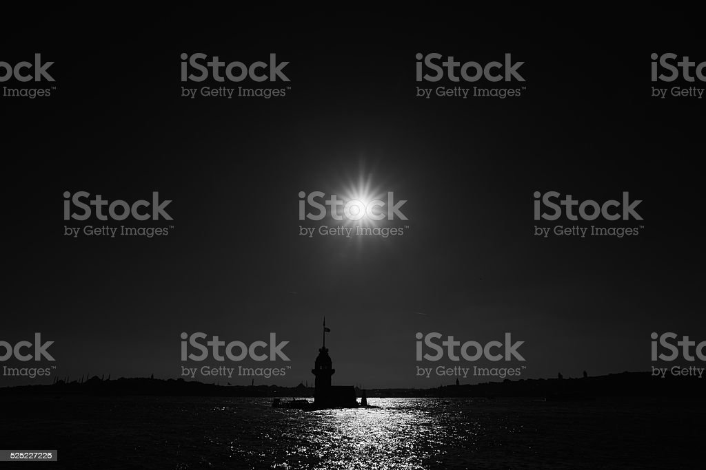 The Maiden's Tower stock photo