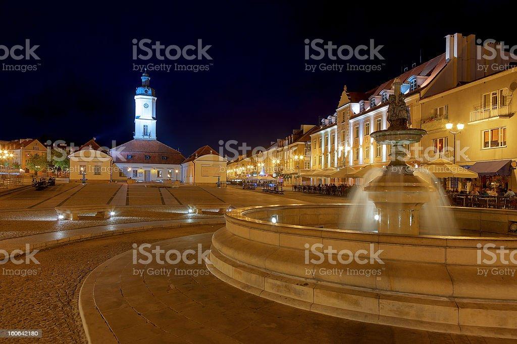 The Main Market Square royalty-free stock photo