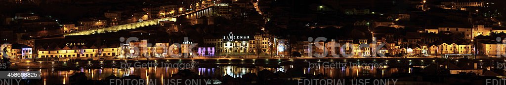 the main street of Port Wine royalty-free stock photo