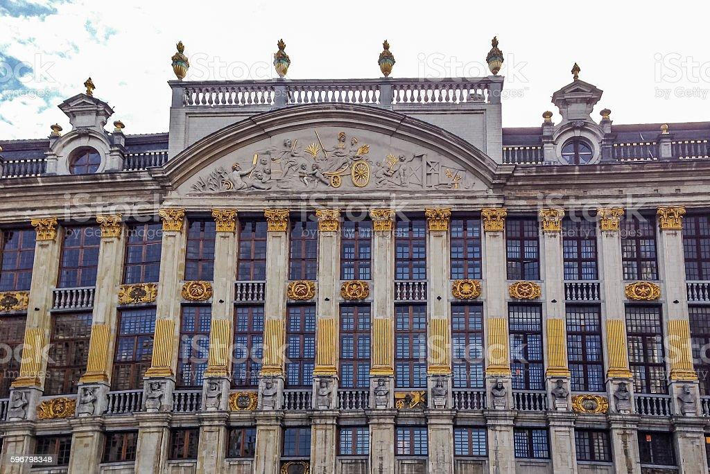 The Maison des Ducs de Brabant - Brussels, Belgium stock photo