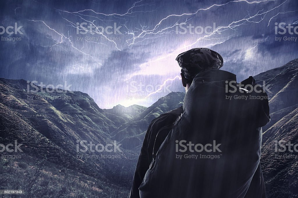 The majestic side of nature stock photo