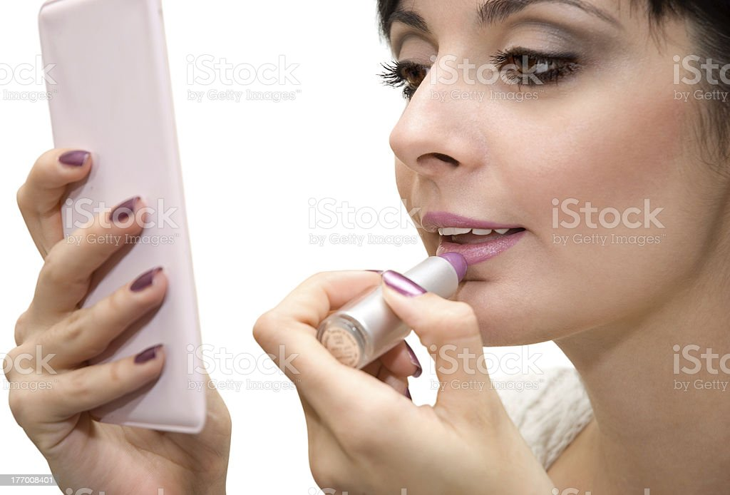 The make-up royalty-free stock photo