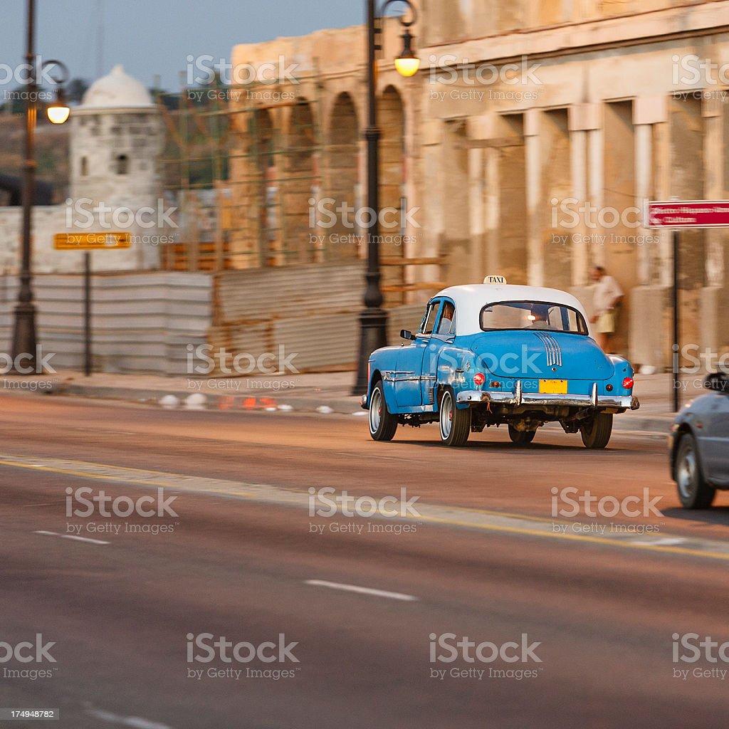 The Malecón, Havana royalty-free stock photo