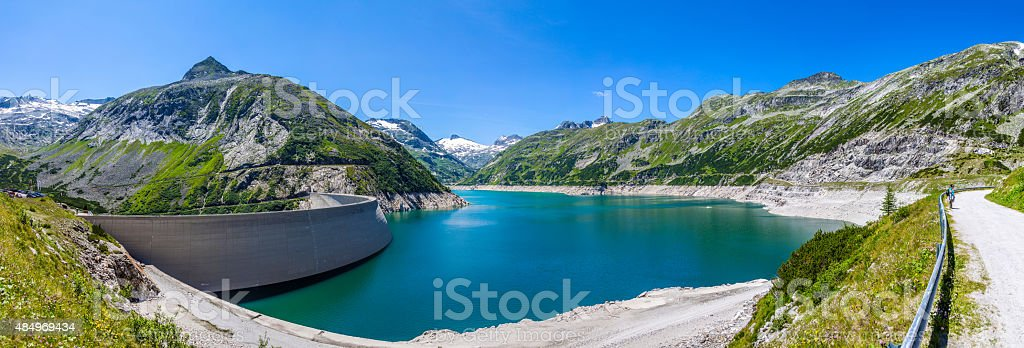 The Maltatal is the valley stock photo