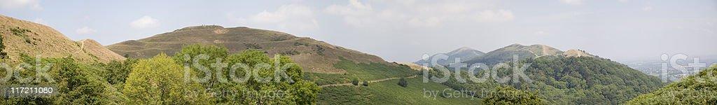 The Malvern Hills stock photo