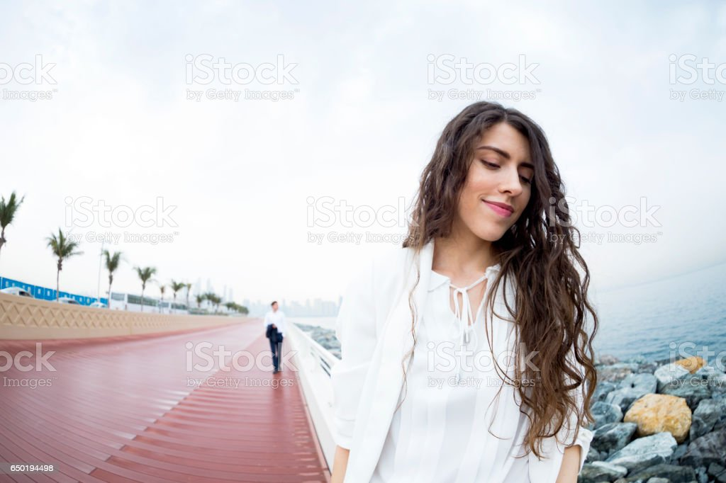 The man of my dreams will be a very successful man stock photo