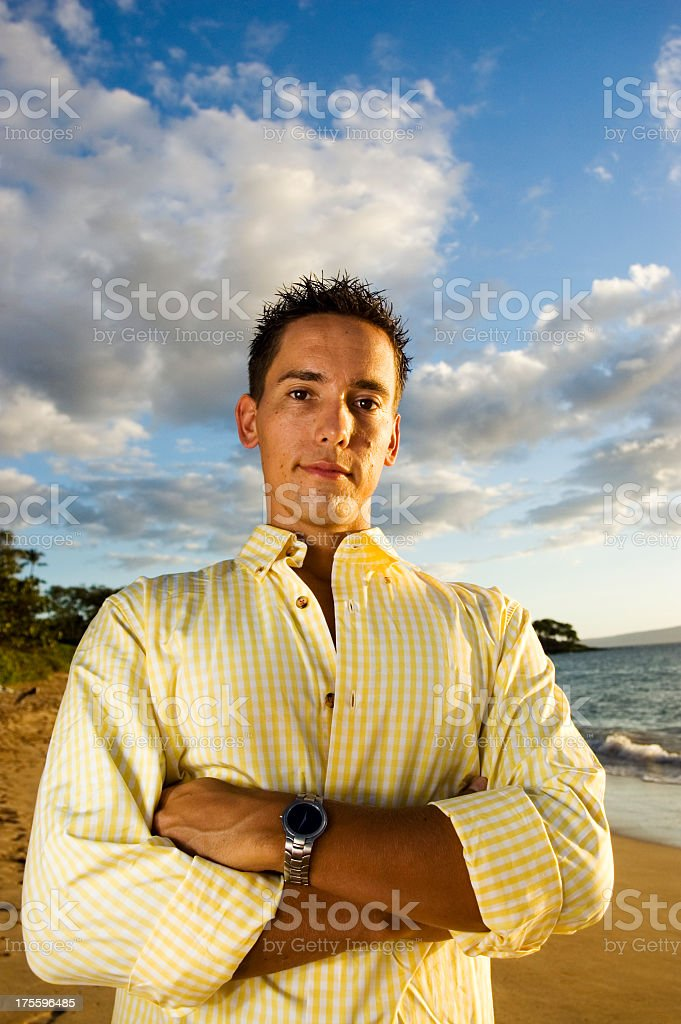 The Man royalty-free stock photo