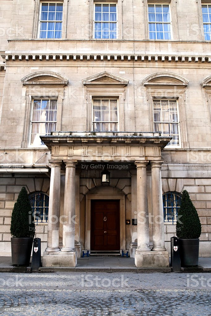 The Mansion House, London stock photo