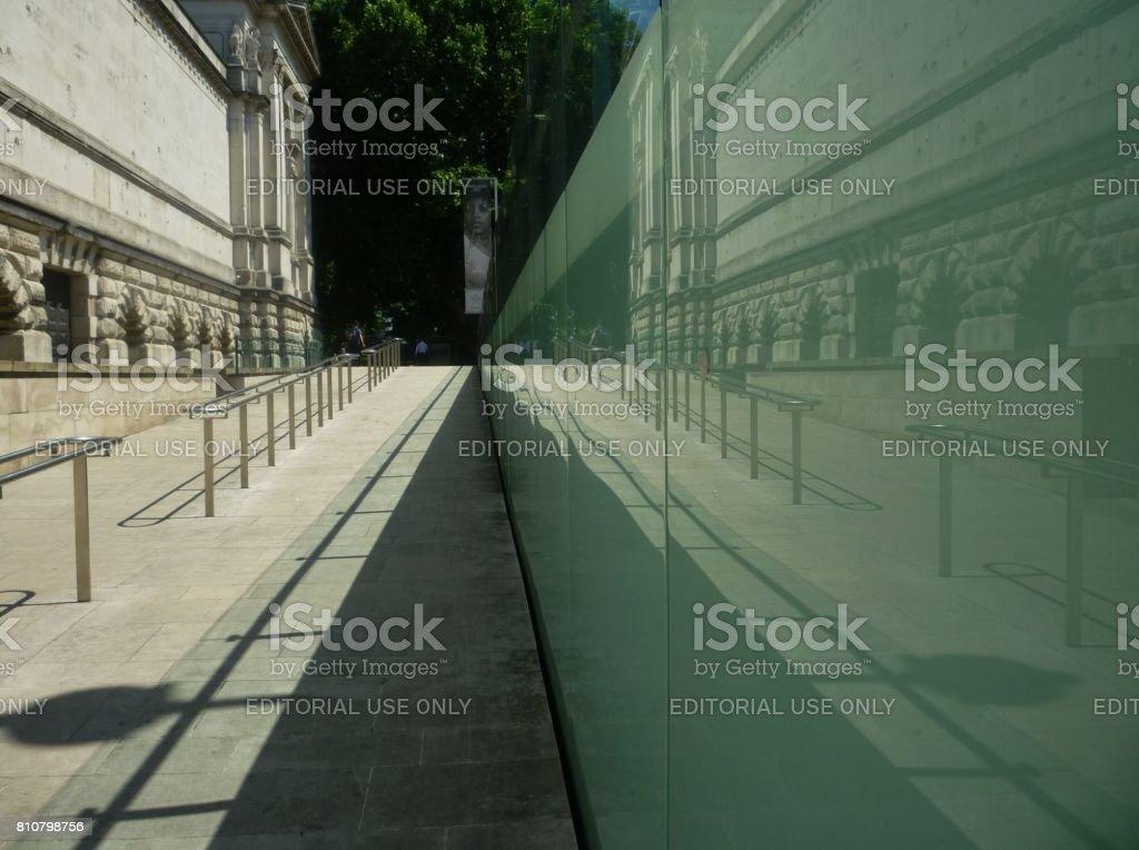 The Manton Entrance to Tate Britain, London, England stock photo