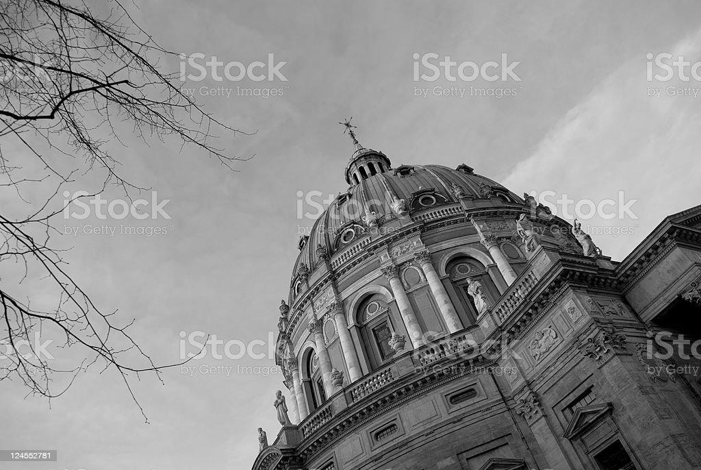 The Marble Church stock photo