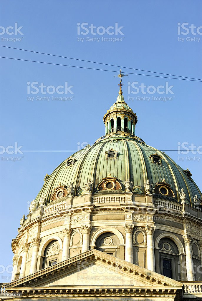 The Marble Church royalty-free stock photo
