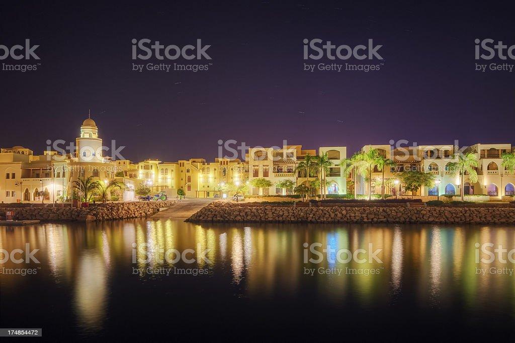 The Marina of Tala Bay - Aqaba / Jordan stock photo