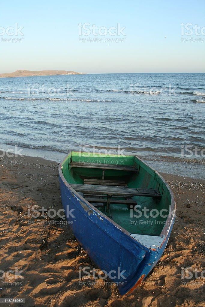 The marine landscape . royalty-free stock photo