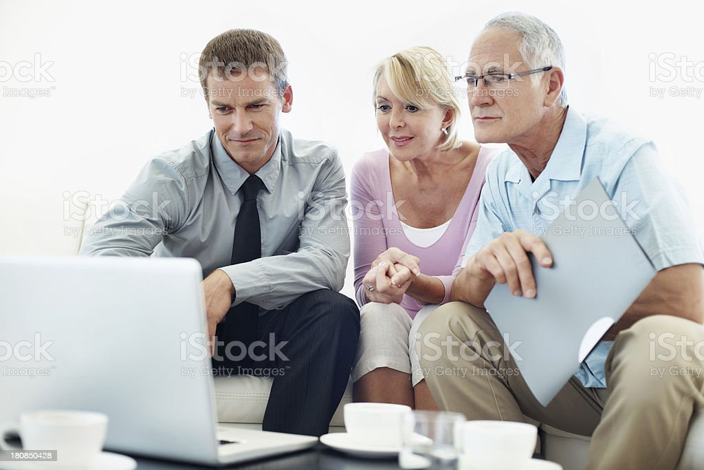 The market trends are readily available online royalty-free stock photo