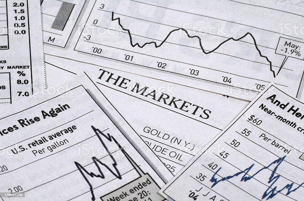 The Markets royalty-free stock photo