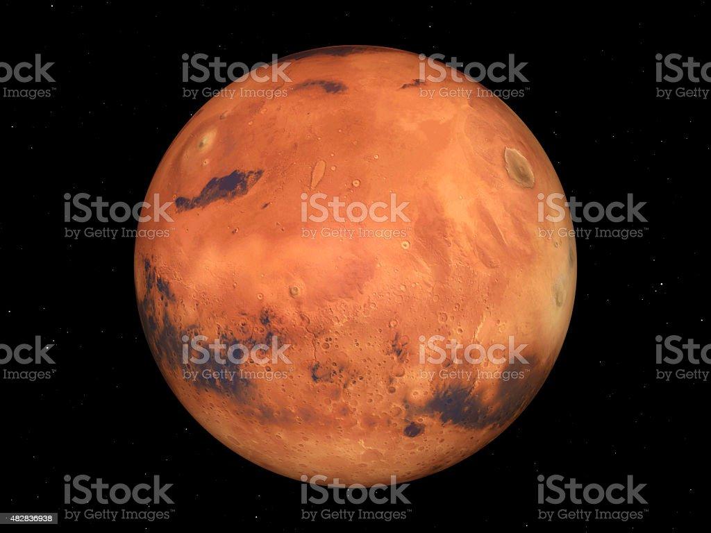 The Mars stock photo