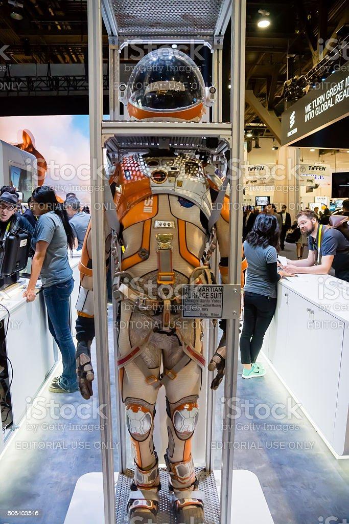 The Martian stock photo