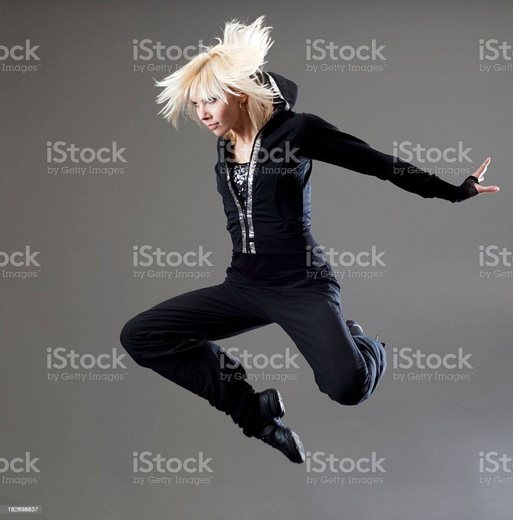 The Matrix Jump stock photo