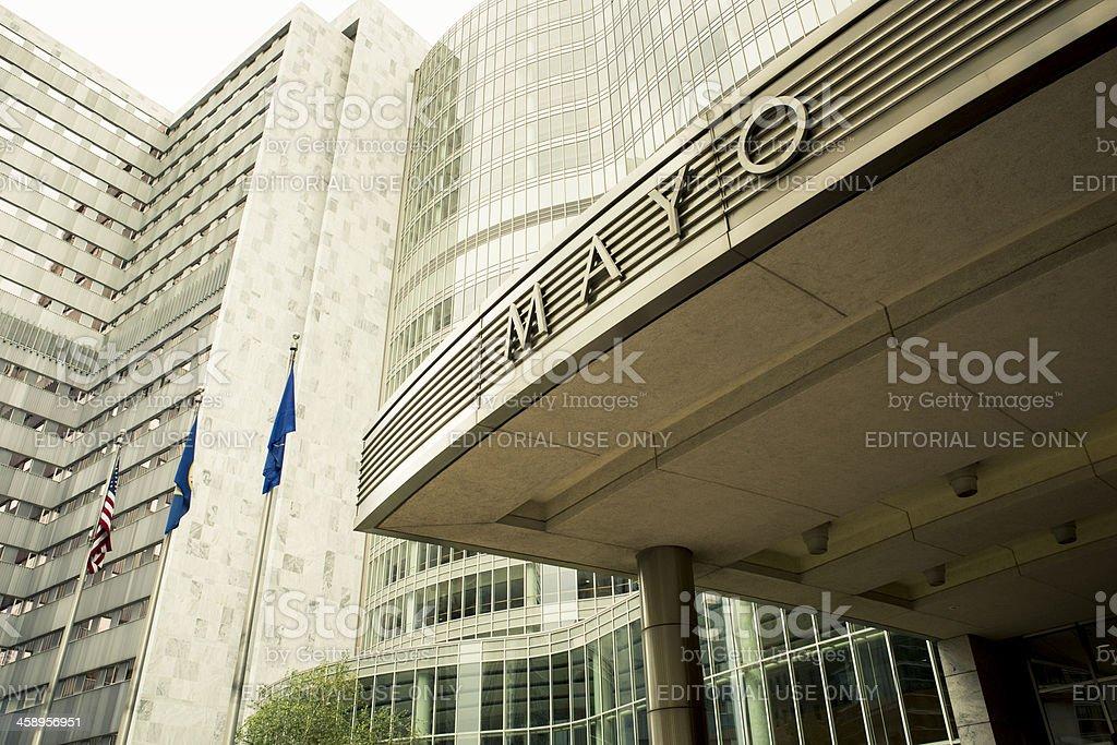 The Mayo Clinic, Rochester Minnesota stock photo