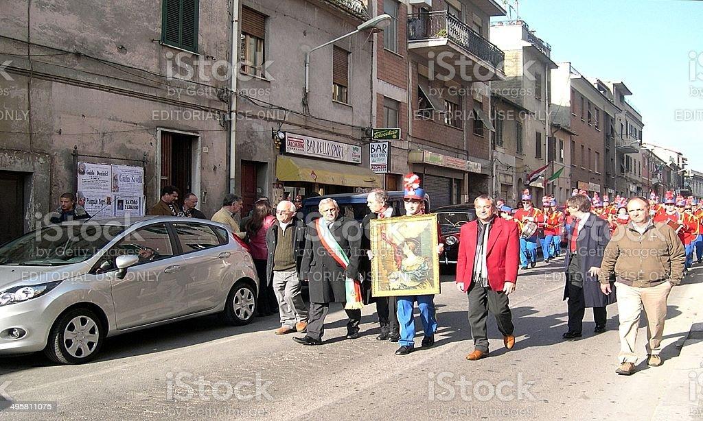 The Mayor royalty-free stock photo