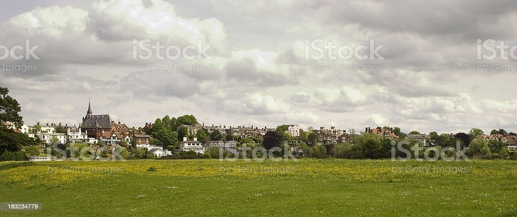 the meadow landscape royalty-free stock photo