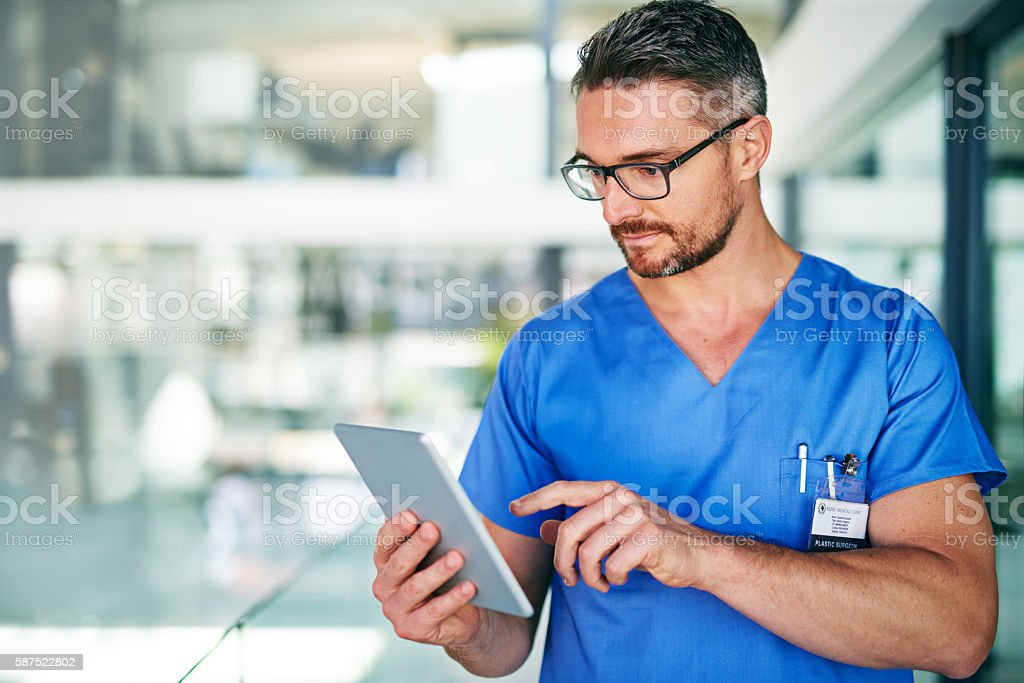 The medical industry continues to benefit from technological innovations stock photo