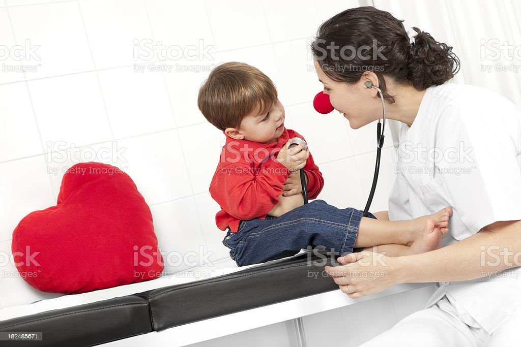 the medical smile stock photo